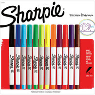 Sharpie Precision Ultra Fine Permanent Marker 12ct Set