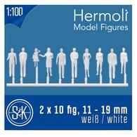 Schulcz - Hermoli 20 Figures, Standing, M = 1:100 (02-40111.20)