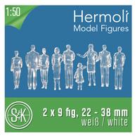 Schulcz - Hermoli Figures, Standing, M = 1:50 (02-50110.18)