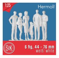 Schulcz - 6 Hermoli Figures, Standing, M = 1:25 (02-70111)