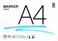 RK Burt Marker Layout Pad - A4