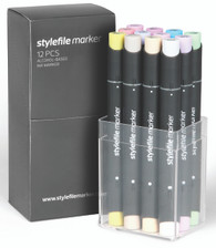 Stylefile Marker (Set of 12) - Pastel Set
