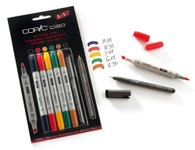 Copic Ciao Markers 5 + 1 - Hue Colours Set