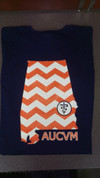 Clearance: Navy Chevron State Tee (2XL only)