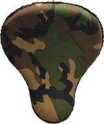 "16"" Bad Ass Solo Seat Army Camo (Green)"