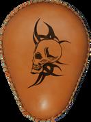 """13"""" baSICK Solo Seat Tan Devil Skull"""