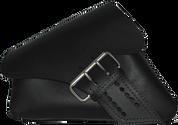 04-UP Harley-Davidson Sportster Left Side Saddle Bag LA FONDINA - Black