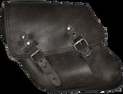 96-UP Harley-Davidson Dyna Wide Glide FXR Left Side Solo Saddle Bag Rustic Black Plain