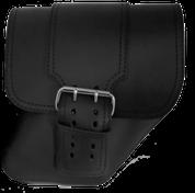 04-UP Harley-Davidson Dyna Wide Glide FXR Right Side Solo Saddle Bag Black with Wide Strap