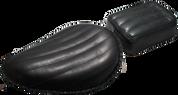 "13"" Classic Solo Seat & Passenger Pad -  Black Tuk N Roll"