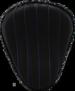 "13"" Classic Solo Seat -  Black Tuk N Roll / Blue Thread"