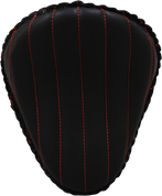 "13"" Classic Solo Seat -  Black Tuk N Roll / Red Thread"