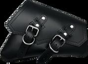 04-UP Harley-Davidson Sportster Right Side Vintage Saddle Bag Black