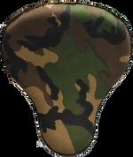 "16"" Cross Bones Solo Seat Army Camo (Green)"