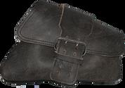04-UP Harley-Davidson Sportster Nightster 1200   Forty-Eight 72 XL Right Side Saddle Bag Swingarm Bag Rustic Black Single Wide Strap