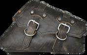 04-UP Harley-Davidson Sportster Right Side Saddle Bag - Rustic Black claSICK