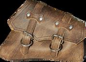 04-UP Harley-Davidson Sportster Right Side Saddle Bag Rustic Brown claSICK