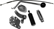 Chromed Jockey Shift Kit for 86-99 H-D FXST