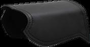 All H-D Softails Heat Deflector / Saddle Shield - Plain Black