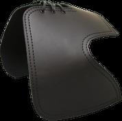 All H-D Sportsters Heat Deflector / Saddle Shield - Plain Black