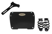 "All Harley-Davidson Dyna Models Solo Seat Mounting Kit with 4"" Blacked Out Barrel Springs"