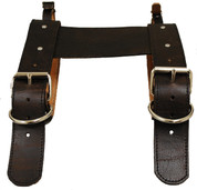 Special La Rosa  Rustic Brown Leather Belts for Blanket/Jacket