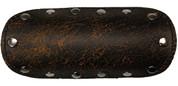 """La Rosa Design Universal Muffler Heat Shield - 6"""" Rustic Brown"""