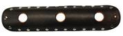 "La Rosa Design Universal Muffler Heat Shield - 12"" Rustic Brown with Circle Cuts"