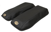 1993-2003 Harley Davidson Touring Bike(Road King, Street Glide, Road Glide, Electra Glide) Hard Saddlebag Cover - Black