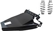 "1984-1999Harley-Davidson Softail Solo Seat Deluxe Conversion kit - 5"" Barrel Springs Black Cover&Bracket"