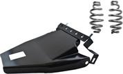 "1984-1999Harley-Davidson Softail Solo Seat Deluxe Conversion kit - 4"" Barrel Springs Black Cover&Bracket"