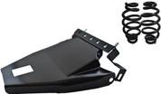 "1984-1999Harley-Davidson Softail Solo Seat Deluxe Conversion kit - 4"" Black Barrel Springs Black Cover&Bracket"