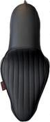 La Rosa Design La Linea Café Seat for 04-UP Harley-Davidson Sportsters - Black Tuk n Roll 2.1&3.3 Tank