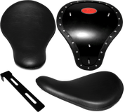 "Chopper Bobber 16"" Eliminator Solo Seats Black Plain"