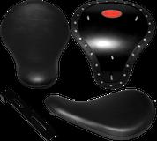 "Chopper Bobber 16"" Eliminator Solo Seats Black Plain"