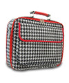 Personalized Ladies Houndstooth Print Laptop Case