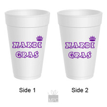 Mardi as Styrofoam Cup Crown