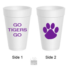Styrofoam Cup  Tigers     TS10