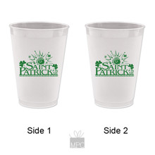 St Patrick's Day 2 Frost Flex Plastic Cups