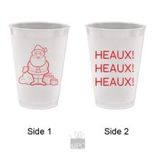 Christmas Heaux Heaux Heaux Frost Flex Plastic Cups