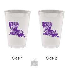 Tigers Frost Flex Plastic Cups