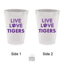 Frost Flex Plastic Cup  Live Love Tigers     TS51