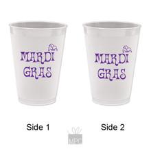 Mardi Gras Jester Hat Frost Flex Plastic Cups