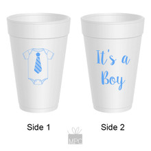 Baby Shower It's A Boy Styrofoam Cups