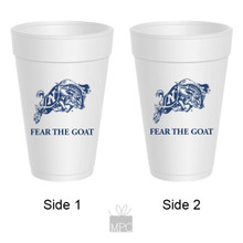 Styrofoam Cup  Fear The Goat     AS4