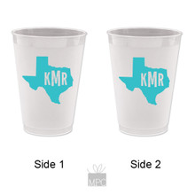 Frost Flex Cups - Monogram State of Texas