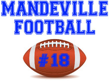 Mandeville High School Football Yard Sign (Football)