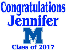 Mandeville High School Graduation Yard Sign (M)