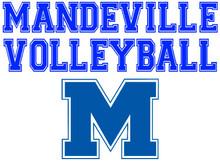 Mandeville High School Volleyball Yard Sign (Spirit)