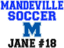Mandeville High School Soccer Yard Sign (M)